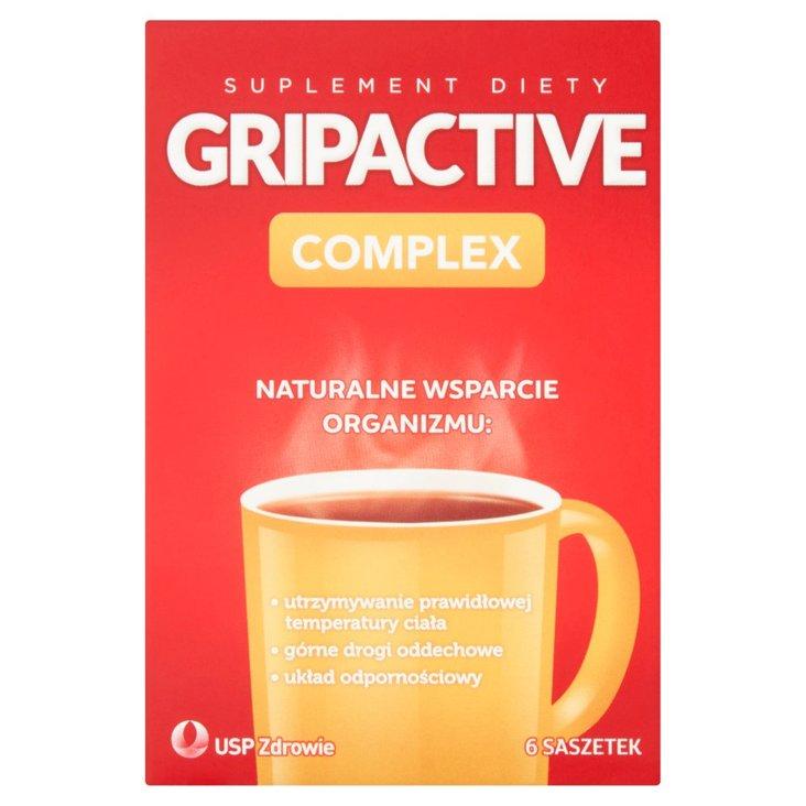 Gripactive Complex Suplement diety 18 g (6 saszetek) (2)