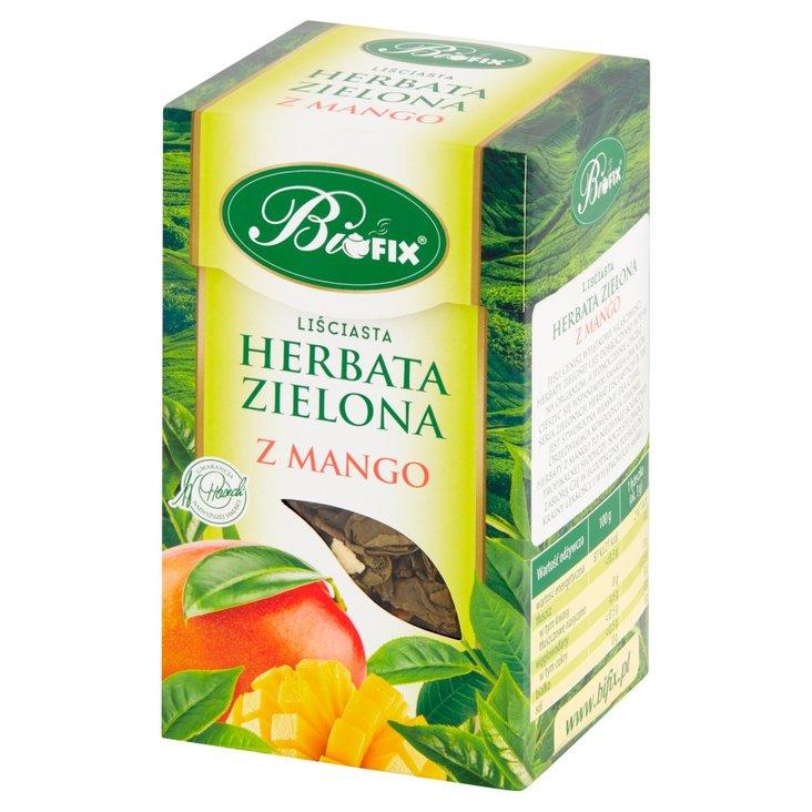 Bifix Herbata zielona liściasta z mango 100 g (1)