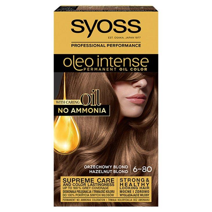 Syoss Oleo Intense Farba do włosów orzechowy blond 6-80 (1)