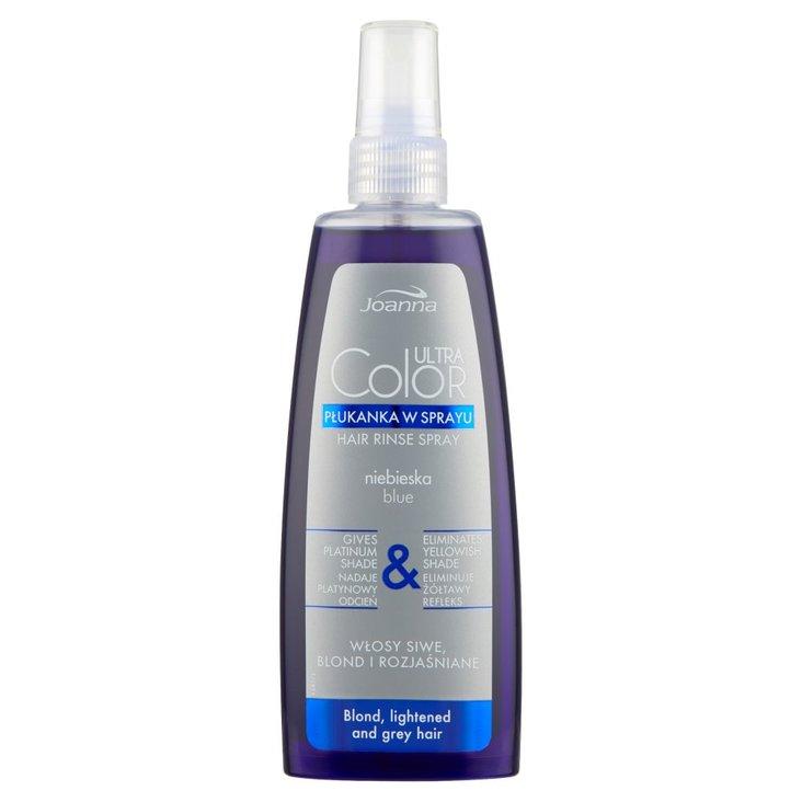 Joanna Ultra Color Płukanka w sprayu niebieska 150 ml (1)
