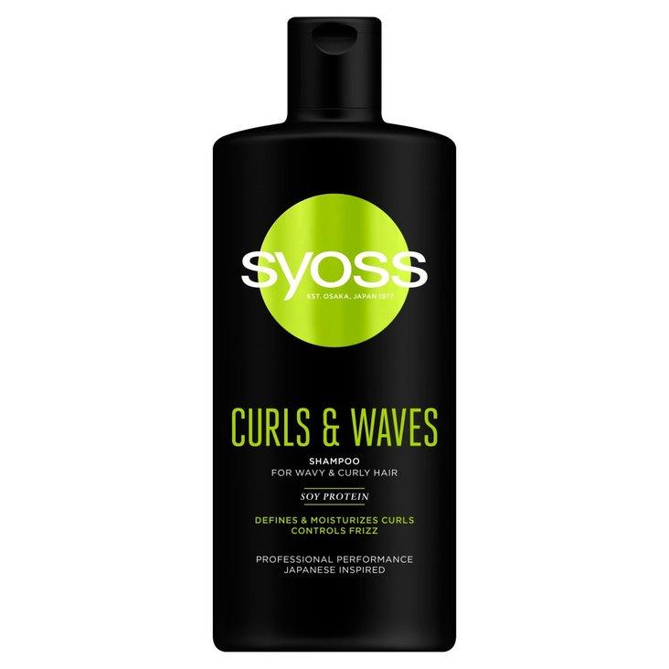 Syoss Curls & Waves Szampon 440 ml (1)