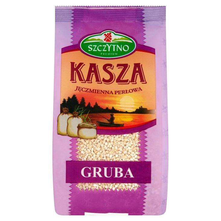 Szczytno Premium Kasza jęczmienna perłowa gruba 400 g (1)