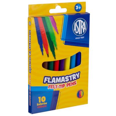 FLAMASTRY ASTRA CX 10 KOLORÓW (1)