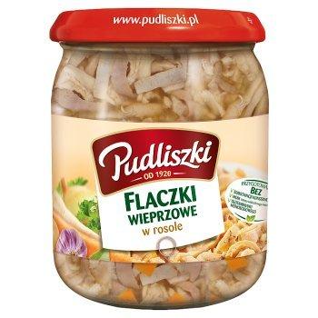 Pudliszki Flaczki wieprzowe w rosole 500 g (1)