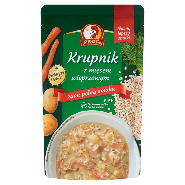 Profi Krupnik z mięsem wieprzowym 450 g (1)