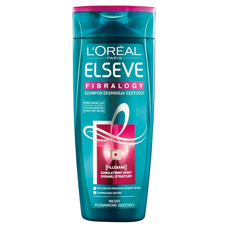 L'Oreal Paris Elseve Fibralogy Szampon Ekspansja Gęstości do włosów cienkich 400 ml (1)
