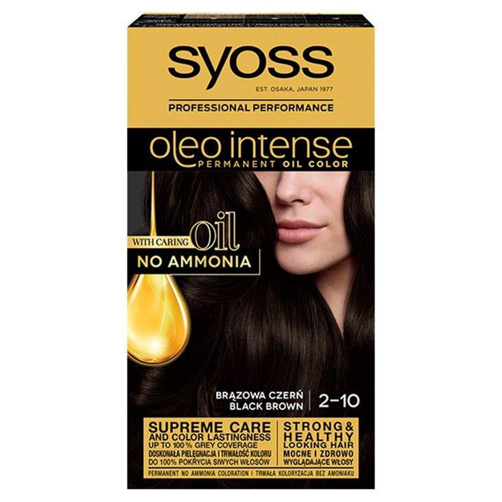 Syoss Oleo Intense Farba do włosów brązowa czerń 2-10 (1)