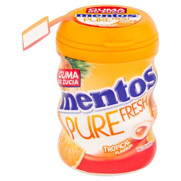 Mentos Pure Fresh Tropical Guma do żucia bez cukru 60 g (30 sztuk) (1)