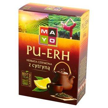 Mayo Pu-Erh Herbata czerwona z cytryną 100 g (1)