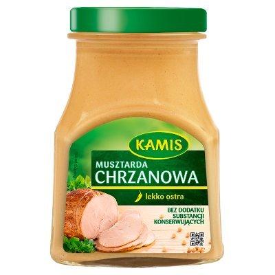 Kamis Musztarda chrzanowa 185 g (2)