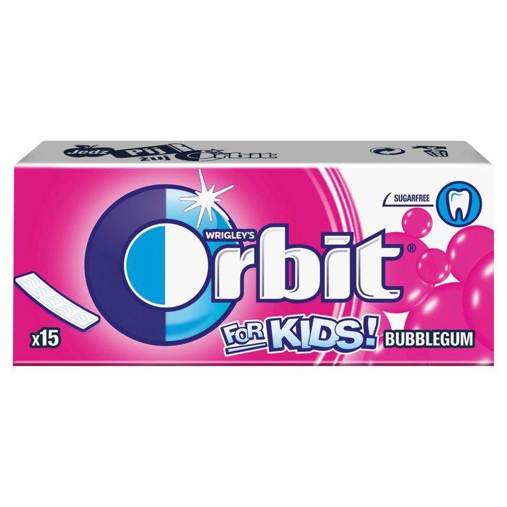 Orbit For Kids Classic Guma do żucia bez cukru 39 g (15 listków) (1)