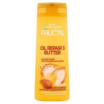 Garnier Fructis Oil Repair 3 Szampon wzmacniający do włosów bardzo suchych i zniszczonych 400 ml (1)