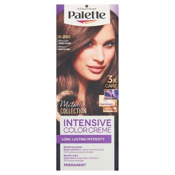 Palette Intensive Color Creme Farba do włosów metaliczny ciemny blond 6-280 (2)