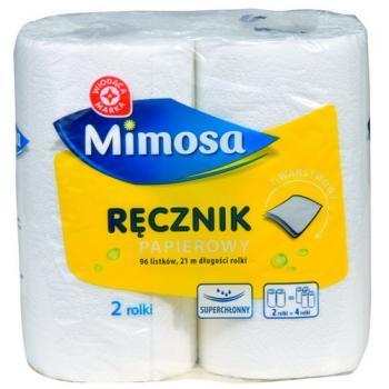 WM Ręczniki papierowe 2-warstwowy 96 listków 2szt (1)