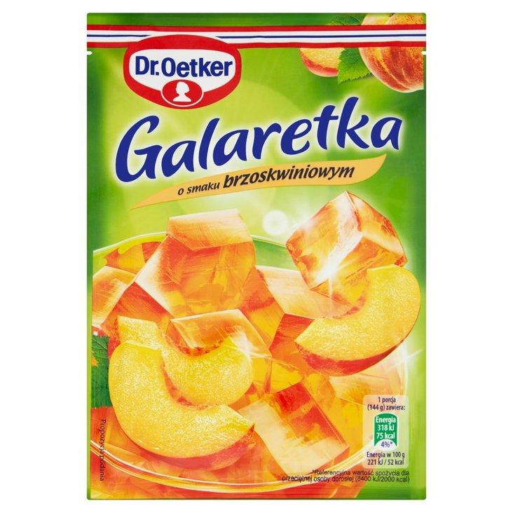 Dr. Oetker Galaretka o smaku brzoskwiniowym 77 g (2)