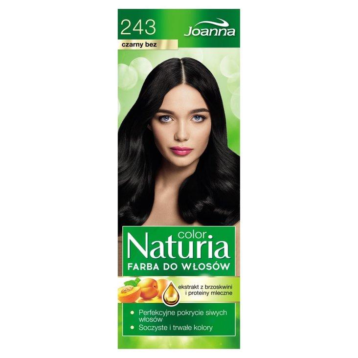 Joanna Naturia color Farba do włosów czarny bez 243 (2)