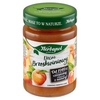 Herbapol Dżem o obniżonej zawartości cukru brzoskwiniowy 280 g (1)