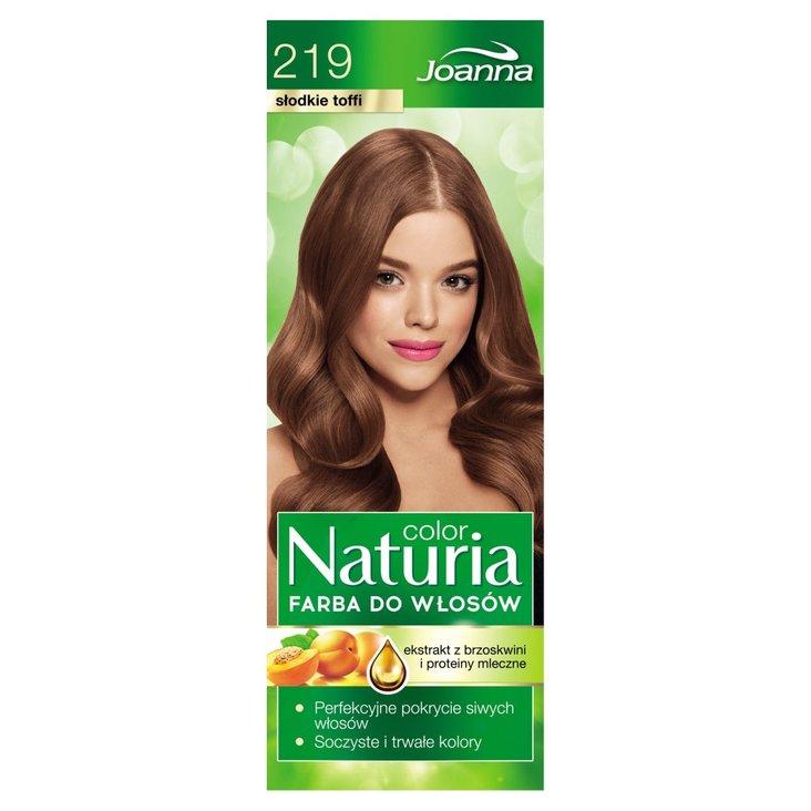 Joanna Naturia color Farba do włosów słodkie toffi 219 (2)