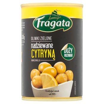 Fragata Oliwki zielone nadziewane cytryną 300 g (2)