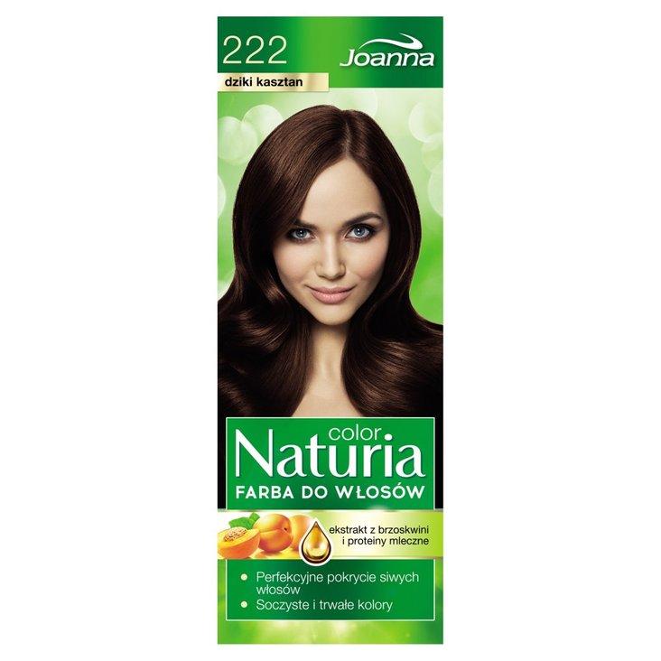 Joanna Naturia color Farba do włosów dziki kasztan 222 (2)