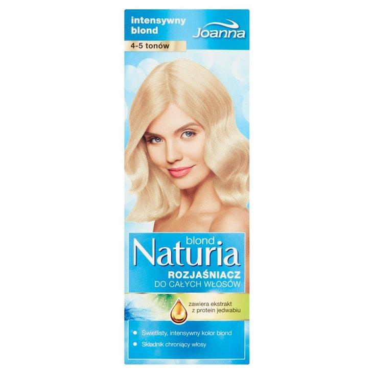 Joanna Naturia blond Rozjaśniacz do całych włosów 4-5 tonów (2)