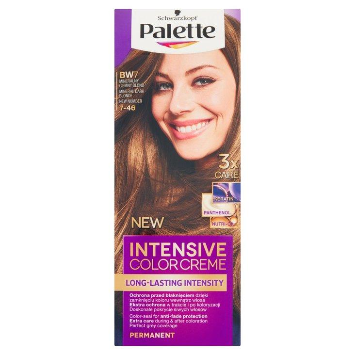 Palette Intensive Color Creme Farba do włosów mineralny ciemny blond BW7 (7-46) (2)
