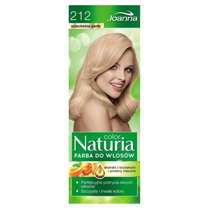 Joanna Naturia color Farba do włosów szlachetna perła 212 (2)