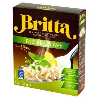 Britta Ryż brązowy 400 g (4 sztuki) (1)