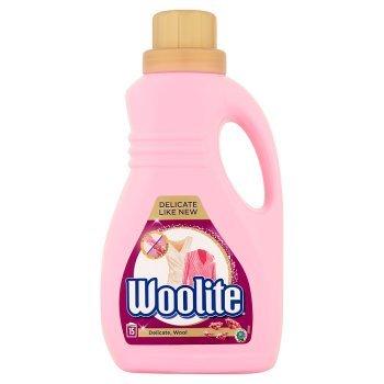 Woolite Płyn do prania delikatne tkaniny i wełna 0,9 l (15 prań) (1)