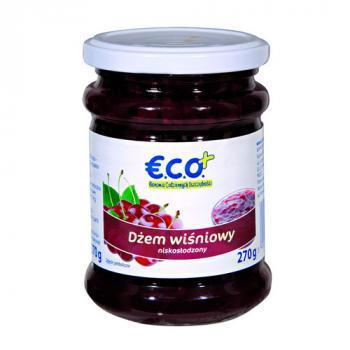 €.C.O.+ dżem wiśniowy  o obniżonej zawartości cukru  270g (1)