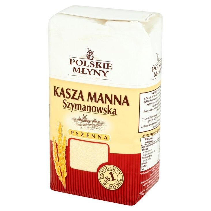 Polskie Młyny Kasza manna Szymanowska pszenna 1 kg (1)