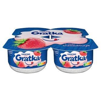 Gratka Deser o smaku truskawkowym 460 g (4 x 115 g) (1)