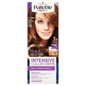 Palette Intensive Color Creme Farba do włosów prażony metaliczny brąz 7-560 (2)