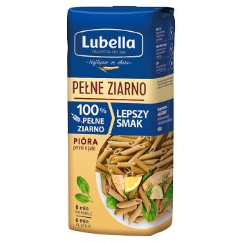 Lubella Pełne Ziarno Makaron pióra 400 g (1)
