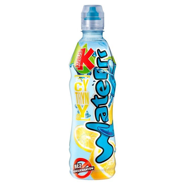 Kubuś Waterrr Napój o smaku cytryny 500 ml (2)