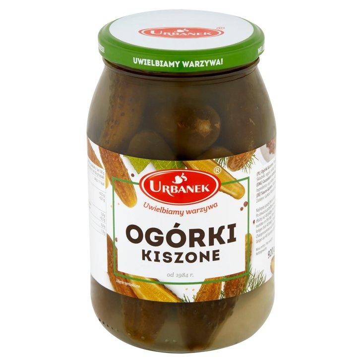 Urbanek Ogórki kiszone 920 g (1)