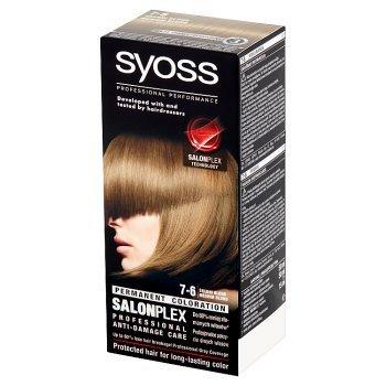 Syoss SalonPlex Farba do włosów średni blond 7-6 (1)