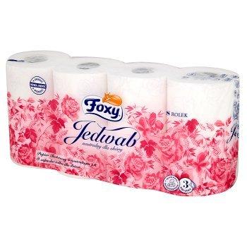 Foxy Jedwab Papier toaletowy 8 rolek (1)