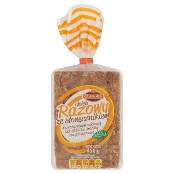 Oskroba Chleb razowy ze słonecznikiem 450 g (1)