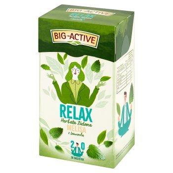 Big-Active Relax Herbata zielona melisa z lawendą 30 g (20 x 1,5 g) (1)