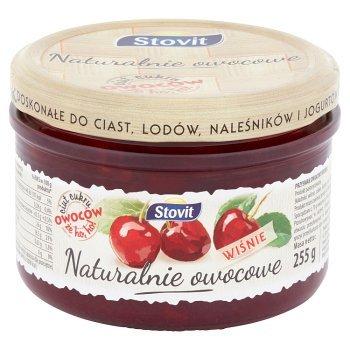 Stovit Naturalnie owocowe Wiśnie 255 g (1)