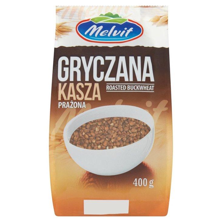 Melvit Kasza gryczana prażona 400 g (1)
