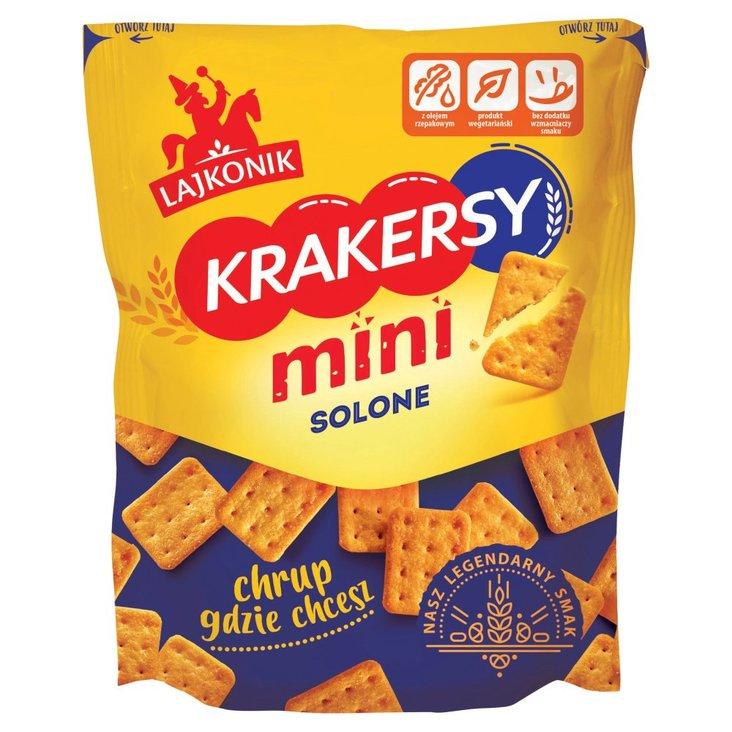 Lajkonik Krakersy mini solone 100 g (1)