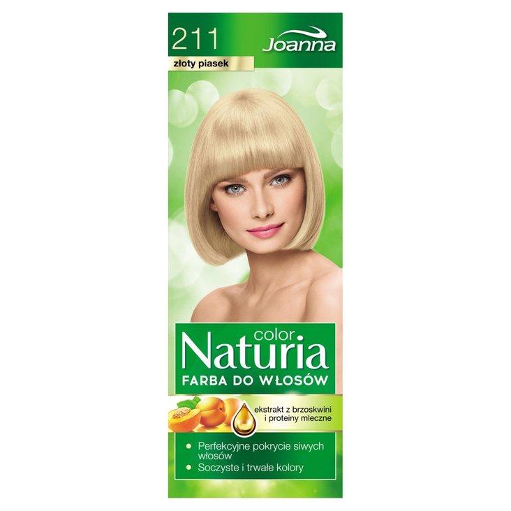 Joanna Naturia color Farba do włosów złoty piasek 211 (2)