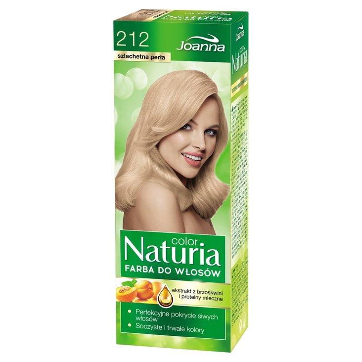Joanna Naturia color Farba do włosów szlachetna perła 212 (1)