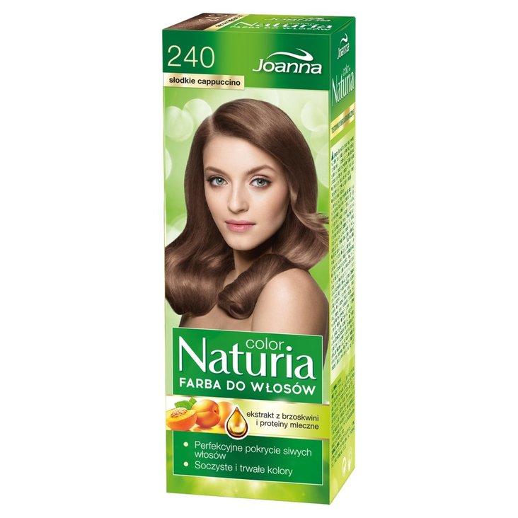 Joanna Naturia color Farba do włosów słodkie cappuccino 240 (1)