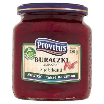 Provitus Fit Buraczki zasmażane z jabłkami 480 g (2)