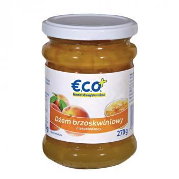 €.C.O.+ dżem brzoskwiniowy o obniżonej zawartości cukru 270g (1)