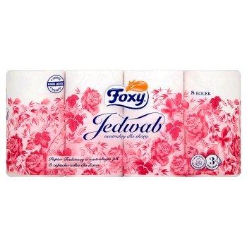 Foxy Jedwab Papier toaletowy 8 rolek (2)