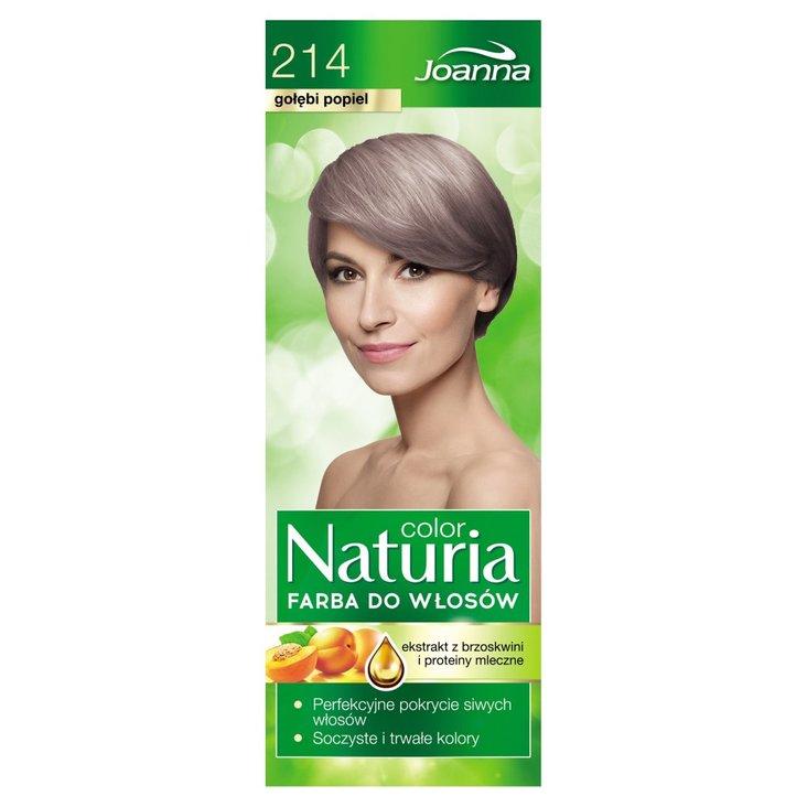 Joanna Naturia color Farba do włosów gołębi popiel 214 (2)